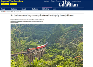 SRI LANKA RANKED TOP COUNTRY FOR TRAVEL IN 2019 BY LONELY PLANET 8