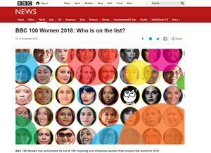ASHA DE VOS: BBC 100 WOMEN 2018 6
