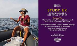 STUDY UK ALUMNI AWARDS REGIONAL WINNER 10