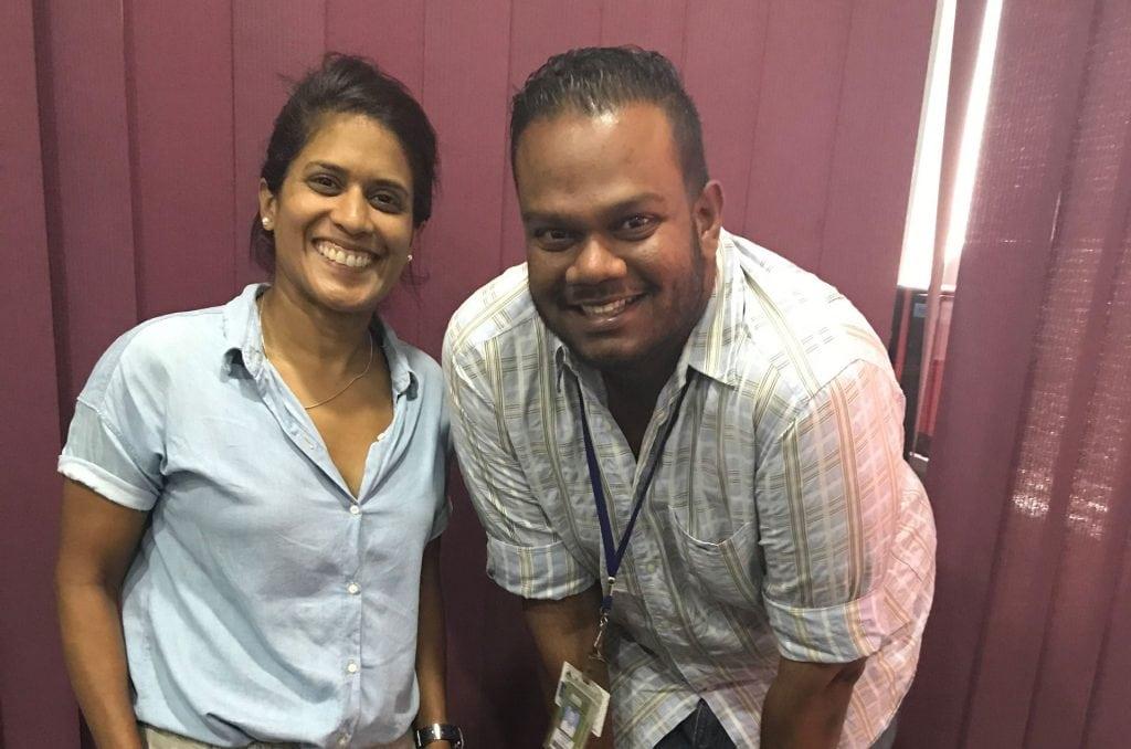 Dr. Asha chats to CJ on Legends 96.6FM 3