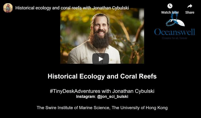 Episode 8: Historical ecology and coral reefs with Jonathan Cybulski 2