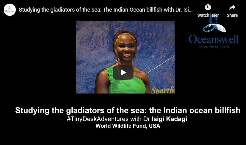 Episode 9: Studying the gladiators of the sea: The Indian Ocean billfish with Dr. Isigi Kadagi 1