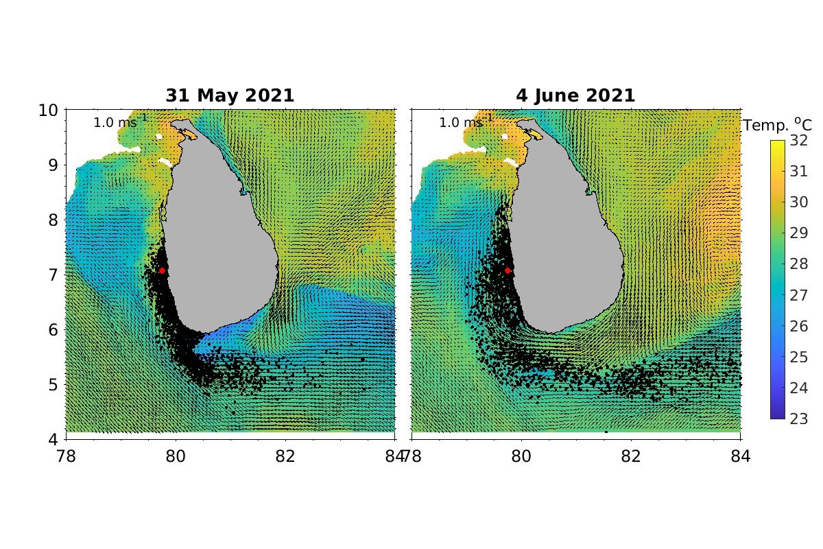 X-Press Pearl incident in Sri Lanka: an oceanographic perspective 2
